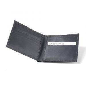 Ørskov 8 Cards Lompakko Musta Nahka