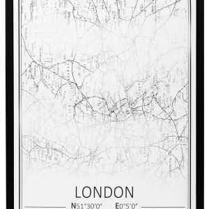 4living Kaupungit Lontoo Taulu 60x80 Cm