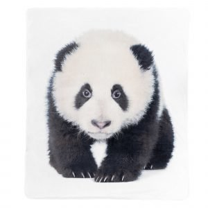 4living Panda Torkkupeite Musta Valkoinen