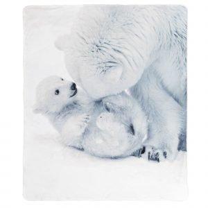 4living Polarbear Torkkupeitto Valkoinen