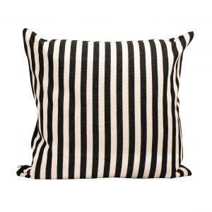 Afroart Donia Tyynynpäällinen Musta / Valkoinen 50x50 Cm