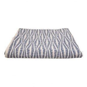 Afroart Ormbunke Päiväpeitto Sininen 160x270 Cm