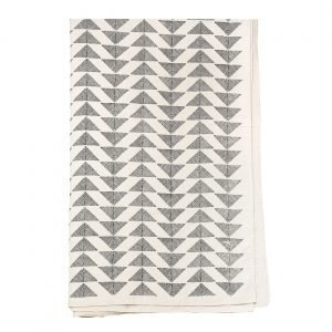 Afroart Pyramid Päiväpeitto Musta / Valkoinen 160x270 Cm