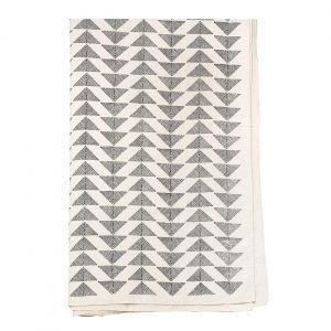 Afroart Pyramid Päiväpeitto Musta / Valkoinen 250x270 Cm