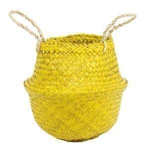Afroart Rice Kori Mini Romb Keltainen 25x25 Cm