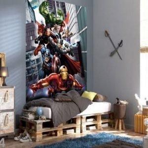 Ag Design Fleece Kuvatapetti Avengers 180x202 Cm