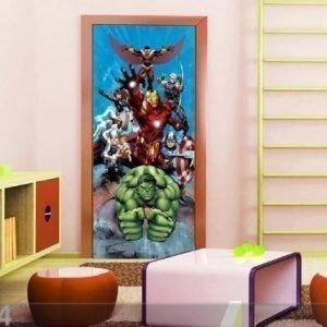 Ag Design Fleece Kuvatapetti Avengers 90x202 Cm