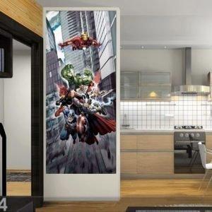 Ag Design Fleece Kuvatapetti Avengers Captain America 90x202 Cm