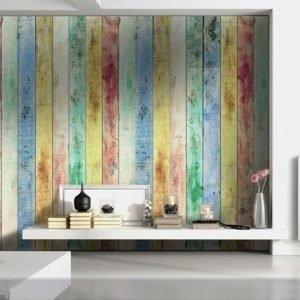 Ag Design Fleece-Kuvatapetti Boards 360x270 Cm