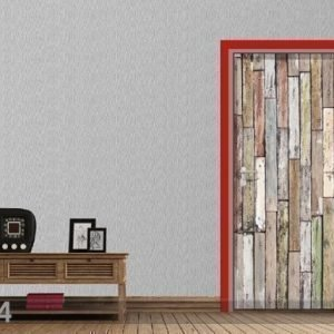 Ag Design Fleece Kuvatapetti Boards 90x202 Cm