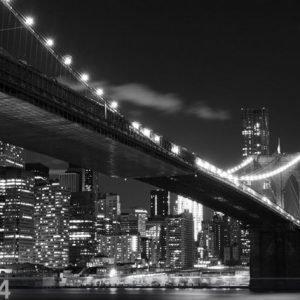 Ag Design Fleece Kuvatapetti Brooklyn Bridge 4 360x270 Cm
