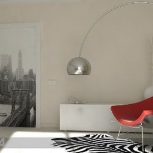 Ag Design Fleece Kuvatapetti Brooklyn New York 90x202 Cm