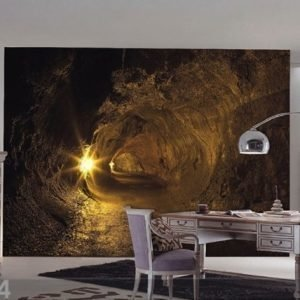 Ag Design Fleece Kuvatapetti Cave 360x270 Cm