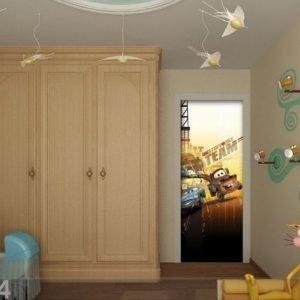 Ag Design Fleece Kuvatapetti Disney Cars 2 Friends 90x202 Cm