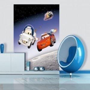 Ag Design Fleece Kuvatapetti Disney Cars In Space 180x202 Cm