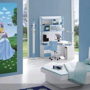 Ag Design Fleece Kuvatapetti Disney Cinderella 90x202 Cm