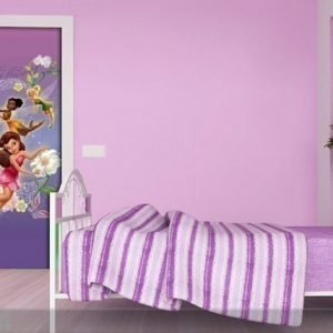 Ag Design Fleece Kuvatapetti Disney Fairies 90x202 Cm