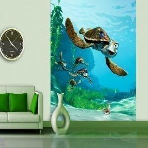Ag Design Fleece Kuvatapetti Disney Finding Nemo 180x202 Cm