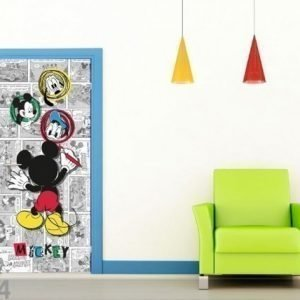 Ag Design Fleece Kuvatapetti Disney Mickey Draws 90x202 Cm