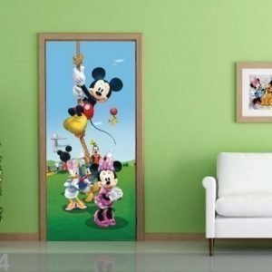 Ag Design Fleece Kuvatapetti Disney Mickey On A Rope 90x202 Cm