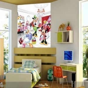 Ag Design Fleece Kuvatapetti Disney Minnies Buys 180x202 Cm