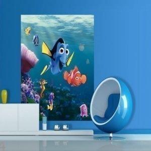 Ag Design Fleece Kuvatapetti Disney Nemo 180x202 Cm