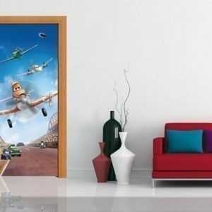 Ag Design Fleece Kuvatapetti Disney Planes 90x202 Cm