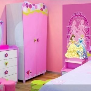 Ag Design Fleece Kuvatapetti Disney Princess 90x202 Cm