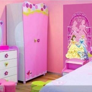 Ag Design Fleece Kuvatapetti Disney Princess 90x202 Cm