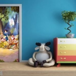 Ag Design Fleece Kuvatapetti Disney Snow White In The Forest 90x202 Cm