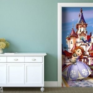 Ag Design Fleece Kuvatapetti Disney Sofia At The Castle 90x202 Cm