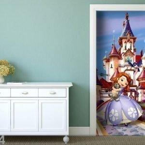 Ag Design Fleece Kuvatapetti Disney Sofia At The Castle 90x202 Cm