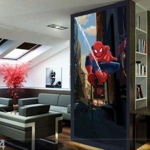 Ag Design Fleece Kuvatapetti Disney Spider 4 90x202 Cm