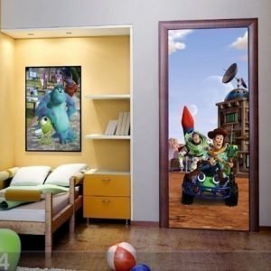Ag Design Fleece Kuvatapetti Disney Toy Store 90x202 Cm