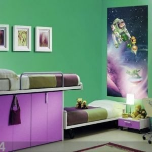 Ag Design Fleece Kuvatapetti Disney Toy Store Universe 90x202 Cm