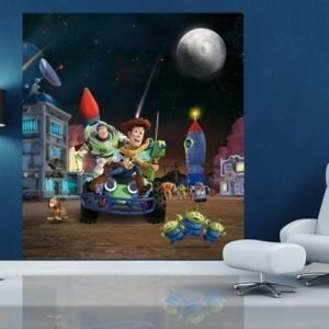 Ag Design Fleece Kuvatapetti Disney Toy Story 180x202 Cm