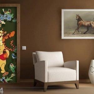 Ag Design Fleece Kuvatapetti Disney Winnie The Pooh 90x202 Cm