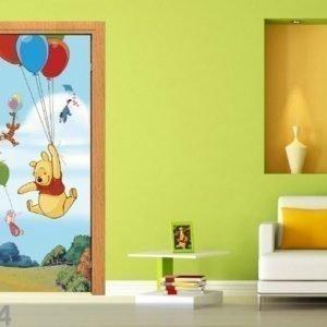 Ag Design Fleece Kuvatapetti Disney Winnie The Pooh Flies 90x202 Cm