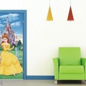 Ag Design Fleece Kuvatapetti Disney'S Beaty And The Beast 90x202 Cm