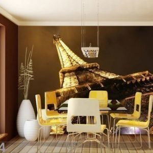 Ag Design Fleece Kuvatapetti Eiffel Tower 360x270 Cm