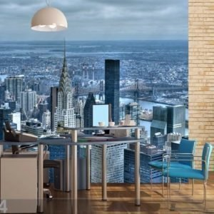 Ag Design Fleece Kuvatapetti Empire State Building 360x270 Cm