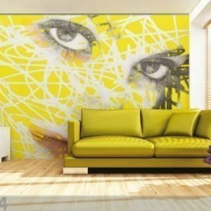 Ag Design Fleece-Kuvatapetti Face 360x270 Cm