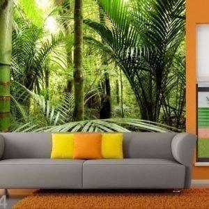 Ag Design Fleece-Kuvatapetti Forest 360x270 Cm