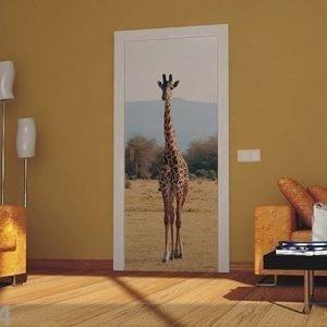 Ag Design Fleece Kuvatapetti Giraffe 2 90x202 Cm