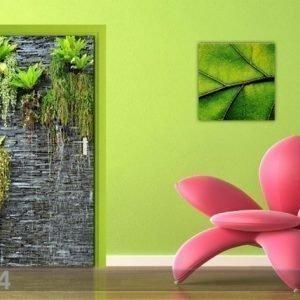 Ag Design Fleece Kuvatapetti Green Wall 90x202 Cm