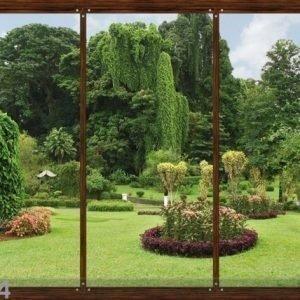 Ag Design Fleece Kuvatapetti Japanese Garden 360x270 Cm