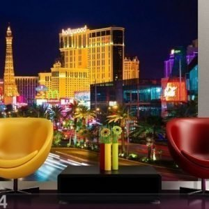 Ag Design Fleece Kuvatapetti Las Vegas 360x270 Cm