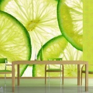 Ag Design Fleece-Kuvatapetti Lime 360x270 Cm