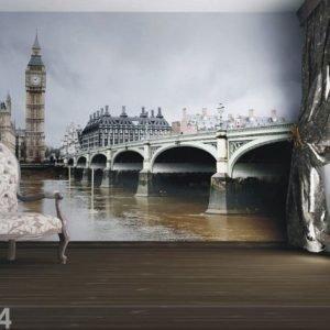 Ag Design Fleece Kuvatapetti London 330x255 Cm