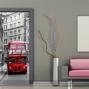 Ag Design Fleece Kuvatapetti London 90x202 Cm